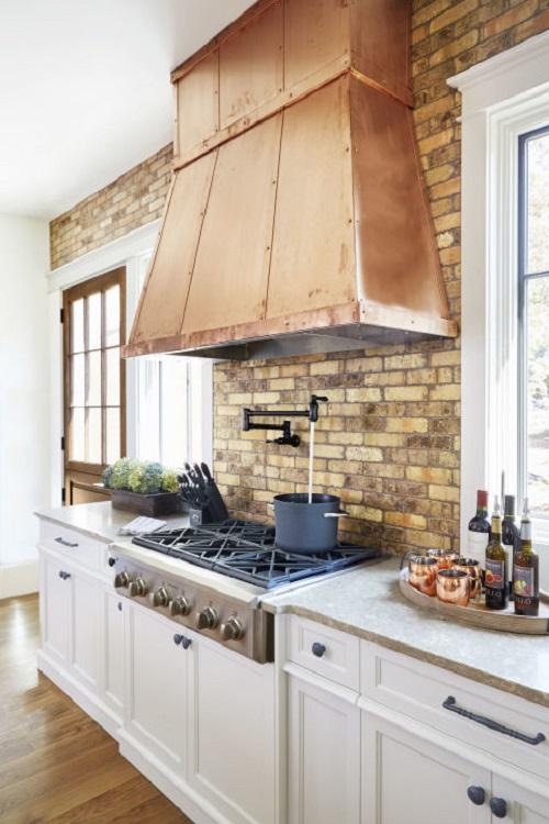 Copper Kitchen Vent