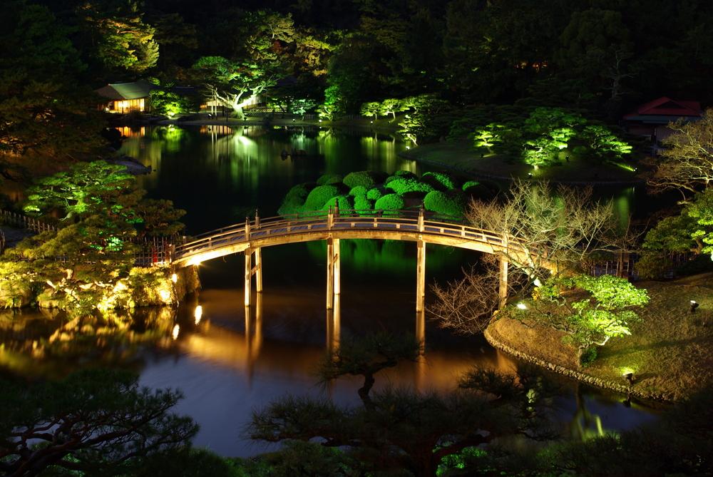 Garden Pond Lights