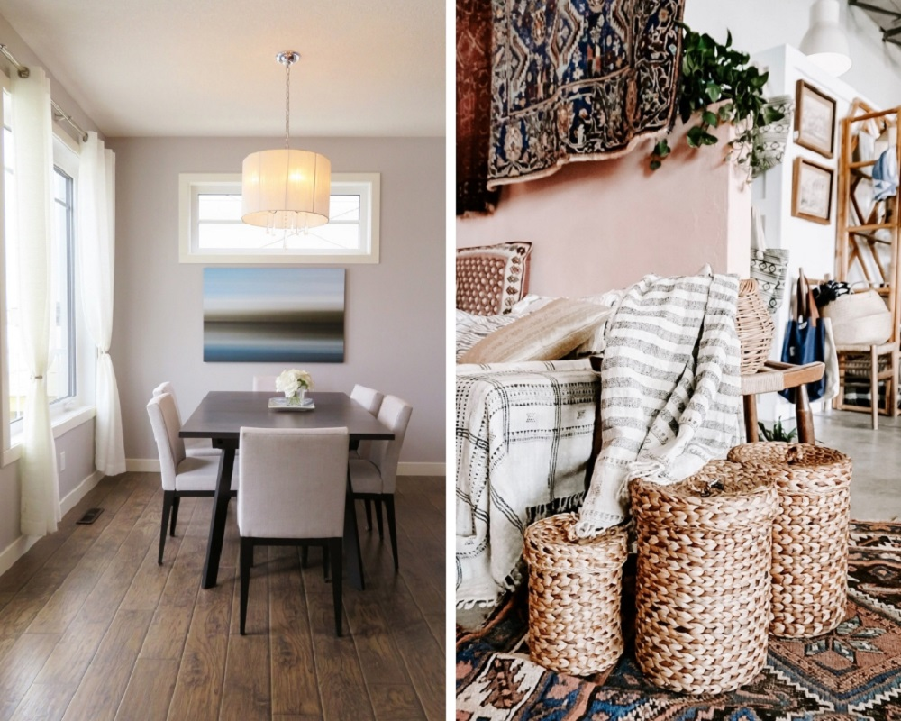 Minimalist Style vs Eclectic Style